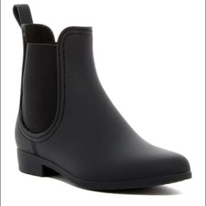 Jeffrey Campbell Forecast Chelsea Rain Boot